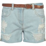 SoulCal Belted Shorts dámské Light Blue Wash XS