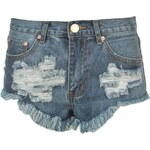 Glamorous Denim Shorts Md Stone Wash S