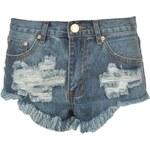 Glamorous Denim Shorts Md Stone Wash S