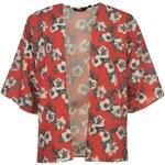 Triko Golddigga Short Sleeve Kimono dámské Hot Coral Flora 10 S