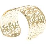 USC Floral Cuff Bracelet Gold Jedna velikost