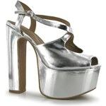 boty Jeffrey Campbell Dazzle LdCl54 Silver 4