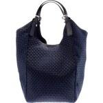 Giulia Massari Dámská kožená kabelka 199i Blue