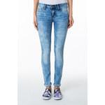 Tally Weijl Blue Acid Low Waist Skinny Jeans