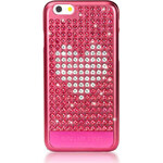 BLING MY THING kryt Extravaganza Crystal Heart pro Apple iPhone 6, MADE WITH SWAROVSKI® ELEMENTS
