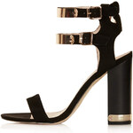 Topshop RODEO Double Strap Sandals