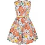 LindyBop dětské šaty Mini Audrey, květinové