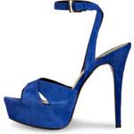 BARBARA BUI Plateau-Stilettos blau