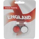 Team England Facepaint White/Red N