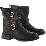 Mädchen Mädchen-Stiefel in schwarz von C&A