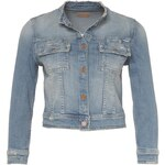 MOTHER Jeansjacke blau