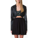 Tally Weijl Black Bolero Biker Jacket