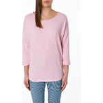 Tally Weijl Pink Light Sweater with Lace Back
