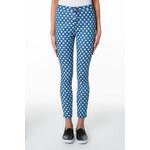 Tally Weijl Blue Polka Dot Denim Jeans