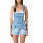 Tally Weijl Denim Short Dungarees with Lace