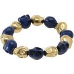 Skull Bracelets Blue/Gold N
