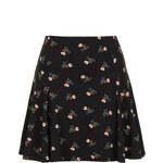 Topshop Tea Flower Godet Skirt