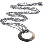 JwL Jewellery Exklusivní dlouhý perlový šál JL0091