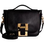 Sophie Hulme Leather Mini Soft Flap Bag