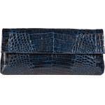 Nancy Gonzalez Crocodile Fold-Over Clutch
