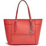 Guess Elegantní kabelka Delaney Small Classic Tote Red Multi