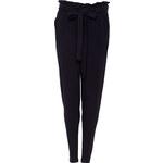 Chino kalhoty teplákové K259 černá > 36