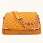 LightInTheBox LYDG Women's Fashion Genuine Leather Sheepskin Tote(Yellow)