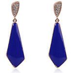 LightInTheBox Fabulous Alloy Crystal Blue Earrings