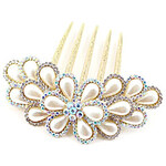 LightInTheBox Elegant Alloy with Crystal Wedding/Daily Hair Combs