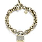 Náramek Michael Kors logo padlock toggle chain MKJ3799710