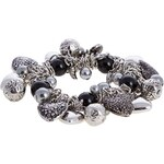Anna Field Armband black/grey/offwhite