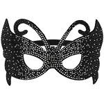 Topshop Black Rhinestone Mask