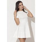 Šaty K090 bílá S
