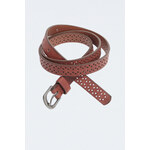Tally Weijl Brown Lazer Cut Belt