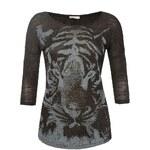 Orsay Langarmshirt mit Tiger-Print