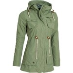 Kabát podzimní dámský WOOX Drizzle Parka Ladies' Olive
