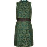 Topshop Sleeveless Crop Lace Dress