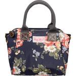 Candy Flowers Stylová modrá kabelka s květy 4132-269