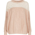 Topshop **Stella Jumper by Navy