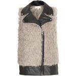 Topshop **Freya Faux Fur Gilet by Goldie