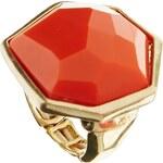 Nali Coral Hexagon Ring