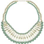 Nali Green Pearl Short Necklace