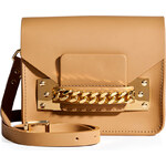 Sophie Hulme Leather Chain Mini Envelope Bag