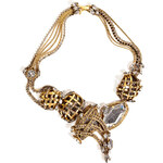 Erickson Beamon Heart of Gold Necklace