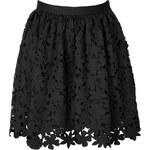 MSGM Laser Cut Skirt