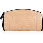 Nancy Gonzalez Crocodile Double Zip Clutch