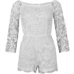 AX Paris Lace Playsuit White 10 S