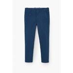 Mango Kids - Dětské kalhoty Barnam 104-164 cm - modrá