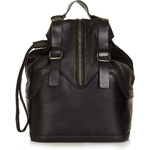 Topshop Leather Strappy Backpack