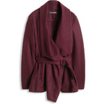 Esprit Zavinovací bunda bez podšívky, směs vlny